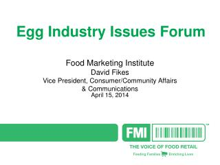 Egg Industry Issues Forum
