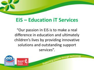 EiS – Education iT Services