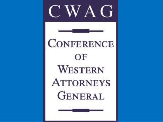 Conference of Western Attorneys General Sun Valley, Idaho August 2009