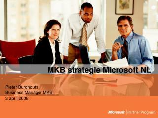 MKB strategie Microsoft NL