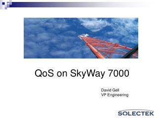 QoS on SkyWay 7000