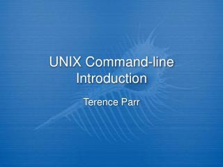 UNIX Command-line Introduction