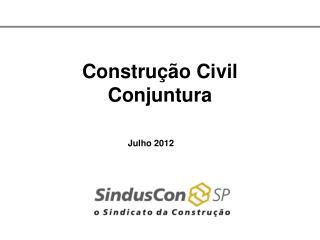 Construção Civil Conjuntura