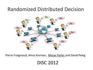 Randomized Distributed Decision