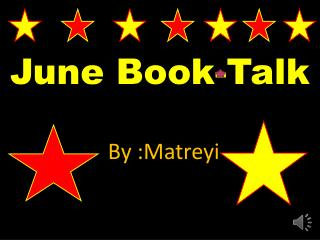 June Book-Talk