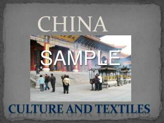 culture and textiles