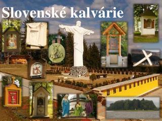 Slovenské kalvárie