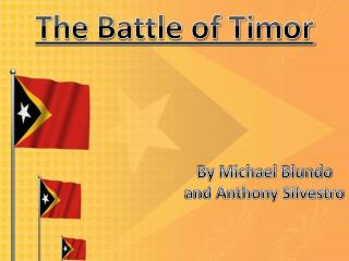 The Battle of Timor