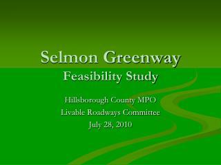 Selmon Greenway Feasibility Study