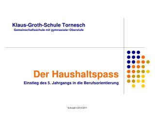 Klaus-Groth-Schule Tornesch Gemeinschaftsschule mit gymnasialer Oberstufe