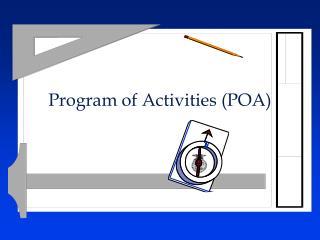 Program of Activities POA