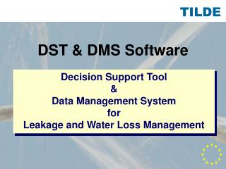 DST & DMS Software