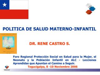 POLITICA DE SALUD MATERNO-INFANTIL
