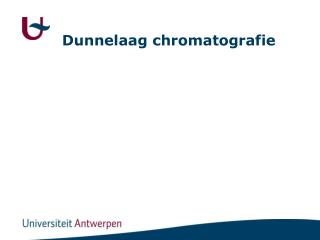 Dunnelaag chromatografie