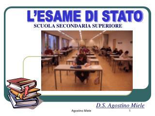 L�ESAME DI STATO