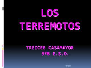 LOS TERREMOTOS  TREICEE CASAMAYOR      3ºB E.S.O.