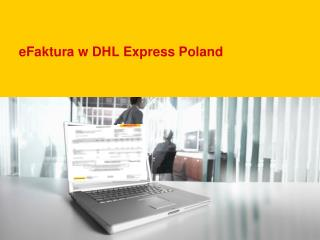 eFaktura w DHL Express Poland