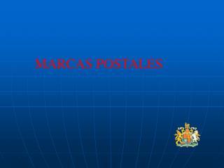 MARCAS POSTALES