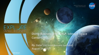 Overview of NASA s SBIR and STTR Programs