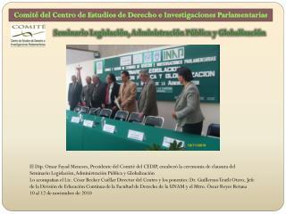 Comité del Centro de Estudios de Derecho e Investigaciones Parlamentarias