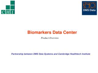 Biomarkers Data Center Product Overview