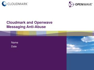 Cloudmark and Openwave