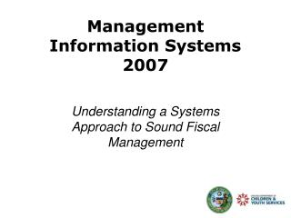 Management  Information Systems  2007