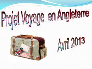 Projet Voyage  en Angleterre