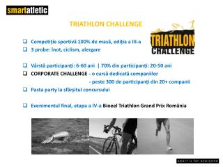 TRIATHLON CHALLENGE