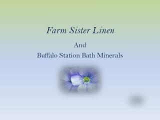 Farm Sister Linen