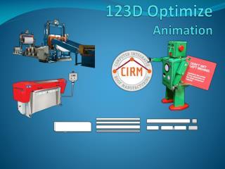 123D Optimize Animation