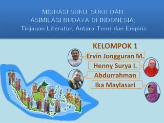 MIGRASI SUKU-SUKU DAN ASIMILASI BUDAYA DI INDONESIA;  Tinjauan Literatur, Antara Teori dan Empiris