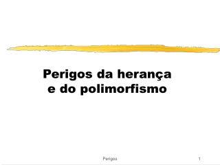Perigos da herança  e do polimorfismo
