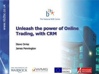 Unleash the power of Online Trading, with CRM