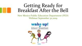NEW MEXICO PUBLIC EDUCATION DEPARTMENT