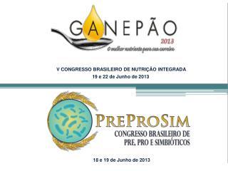 V CONGRESSO BRASILEIRO  DE NUTRIÇÃO  INTEGRADA