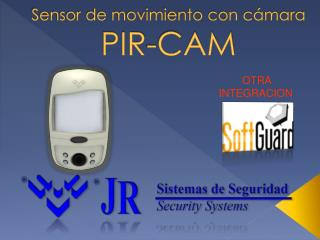 Sensor de movimiento con cámara PIR-CAM