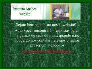 Sejam bem vindos ao nosso  website !