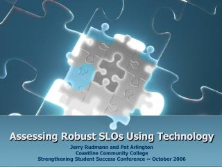 Assessing Robust SLOs Using Technology