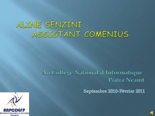 Aline Senzini  - assistant Com e nius