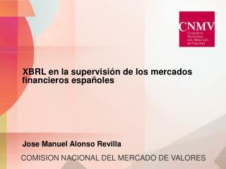 COMISION NACIONAL DEL MERCADO DE VALORES