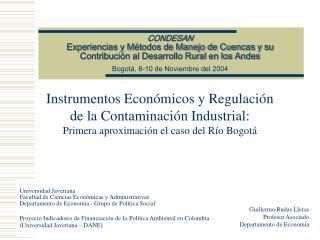 Instrumentos Económicos y Regulación