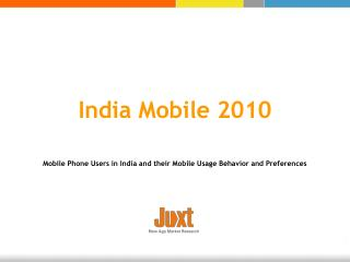 India Mobile 2010