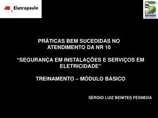 PR�TICAS BEM SUCEDIDAS NO ATENDIMENTO DA NR 10