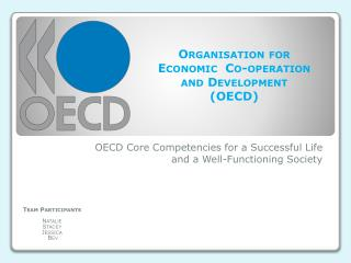 OECD Core Competencies for a Successful Life and a Well-Functioning Society