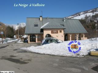 La Neige  à Valloire