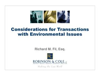 Considerations for Transactions with Environmental Issues