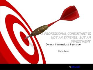 A PROFESSIONAL CONSULTANT IS NOT AN EXPENSE, BUT AN INVESTMENT