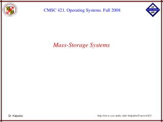 Mass-Storage Systems