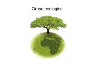 Ora ş e ecologice